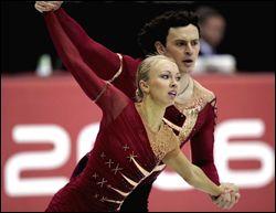 Tatiana Totmianina & Maxim Marinin (Russia: Pairs) 2006 free skate