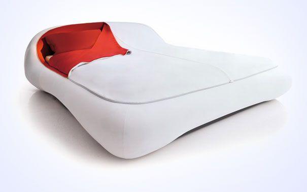 Sleek Zip-Up Bed