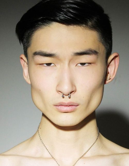 asian guys with piercings