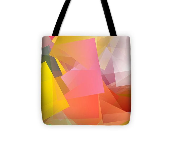 Cubism Abstract 169 Tote Bag #totebag #bag #abstract #colorful #design #art #Lifestyle