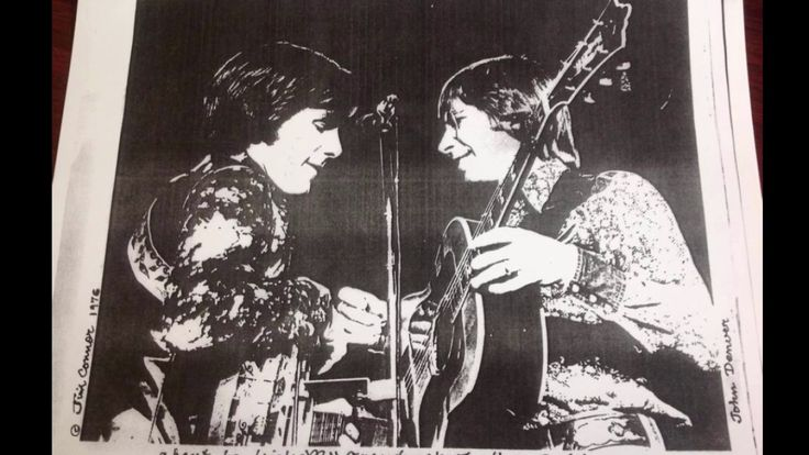Jim Connor with John Denver playing backup - Grandma's Feather Bed