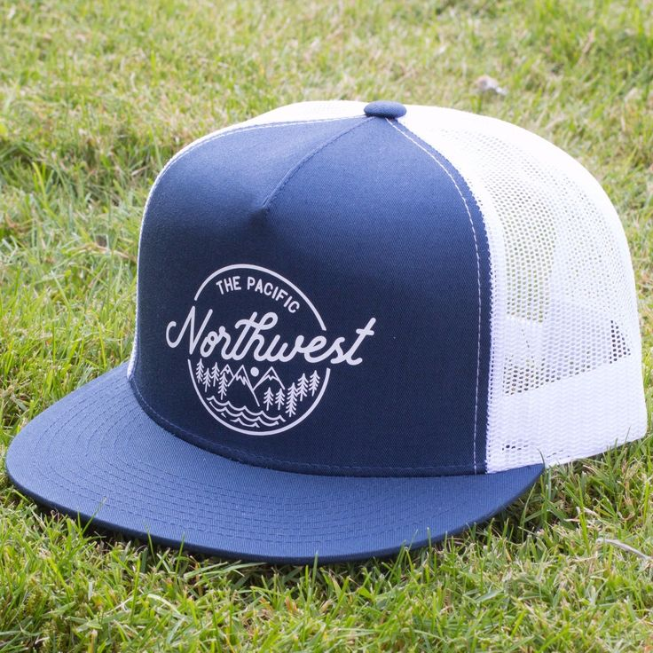 Northwest Trees & Mountains Hat