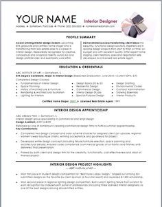 interior design resume template interior design resume template we provide as reference to make correct - Interior Design Resume Sample