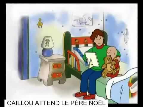 CAILLOU ATTEND LE PÈRE NOËL