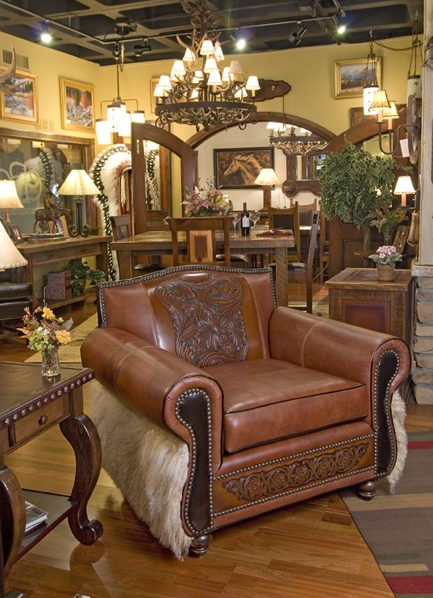 Stylish Recliner: Ranch House Decor