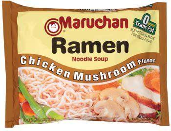 Maruchan Ramen Chicken Mushroom Flavor Noodle Soup 3 oz