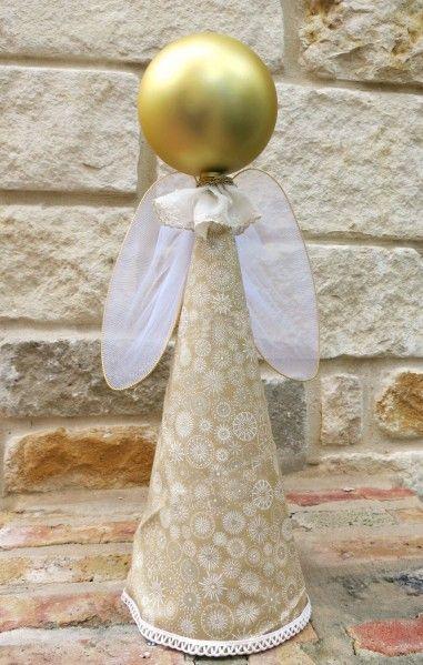 Tutorial: Simple angel decor - dollar store craft