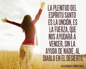 La Plenitud Del Espiritu Santo