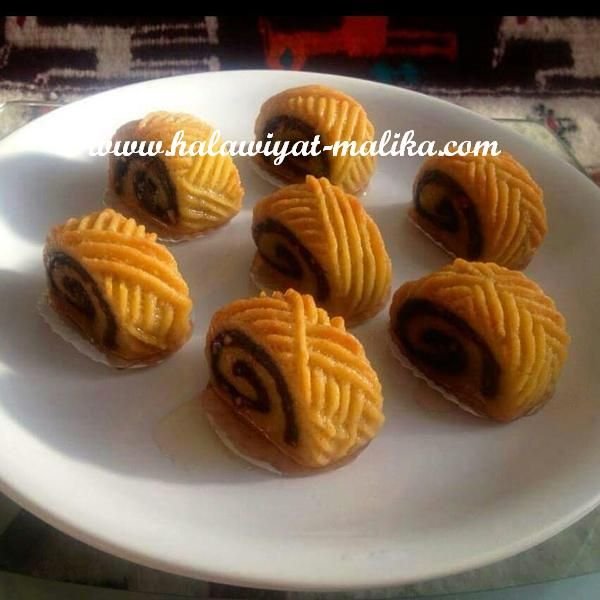 حلويات مليكة لعشاق الحلويات: مقروط رولي يجنن