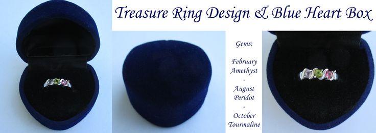 Treasure Daughter's Pride Ring from www.daughterspride.com