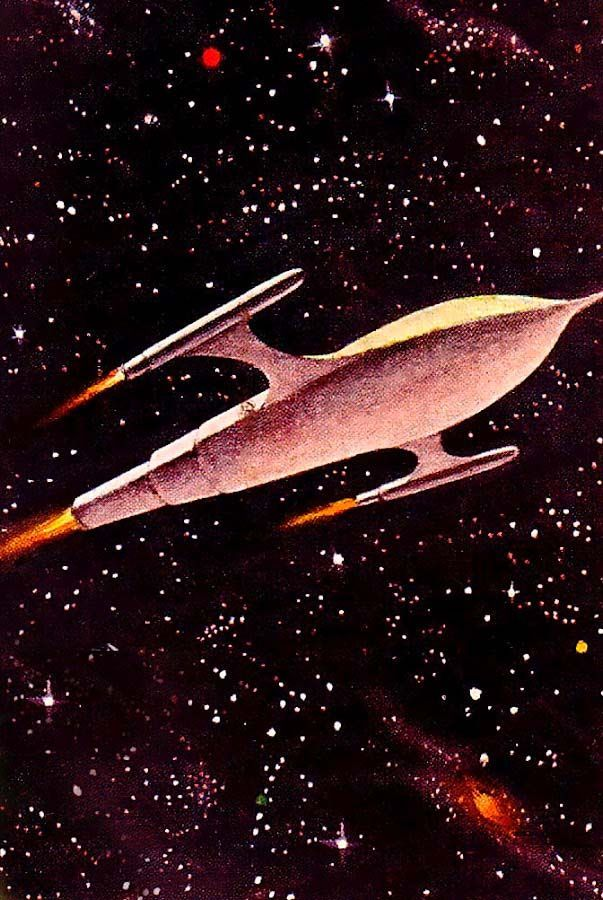 327 best space age pop art images on pinterest future for Retro outer space