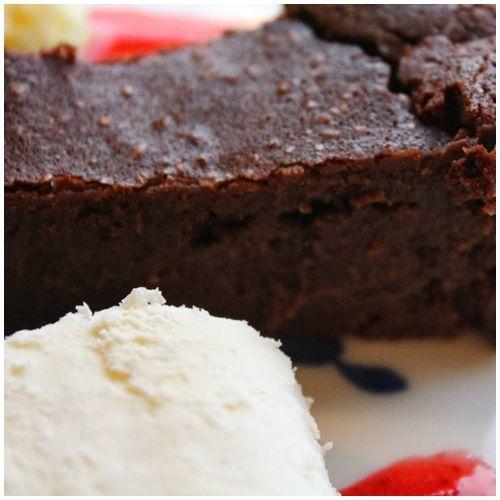 Skovmøllens chokoladekage