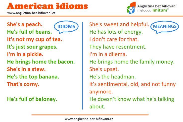 Podívejte se na zajímavé idiomy v americké angličtině, ve kterých je možné najít stopu jídla. ☕🍇🍌 #anglictina #idiomy