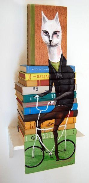 Artistas são eternos revolucionários. Modificar tecnicas, combinar materiais e fazer experiências faz parte do processo criativo. O trabalho do artista americano Mike Stilkey é um exemplos de evolução.