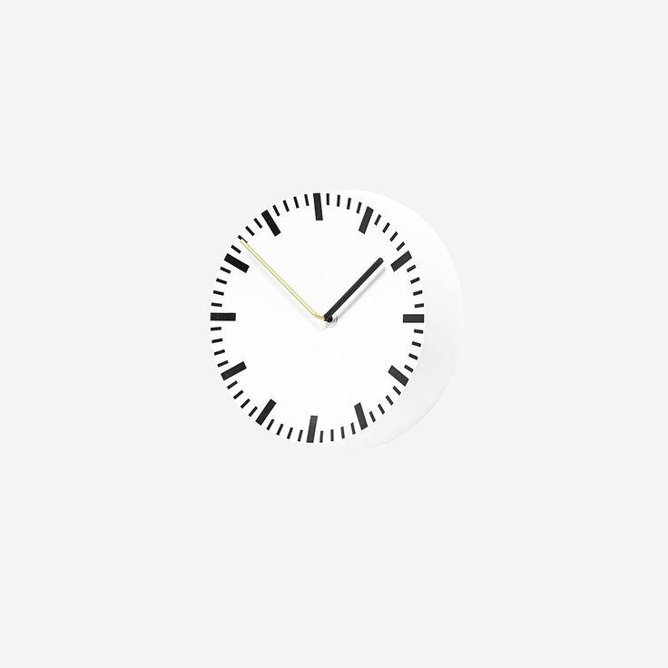 Analog Clock White – SIMPLE FORM.