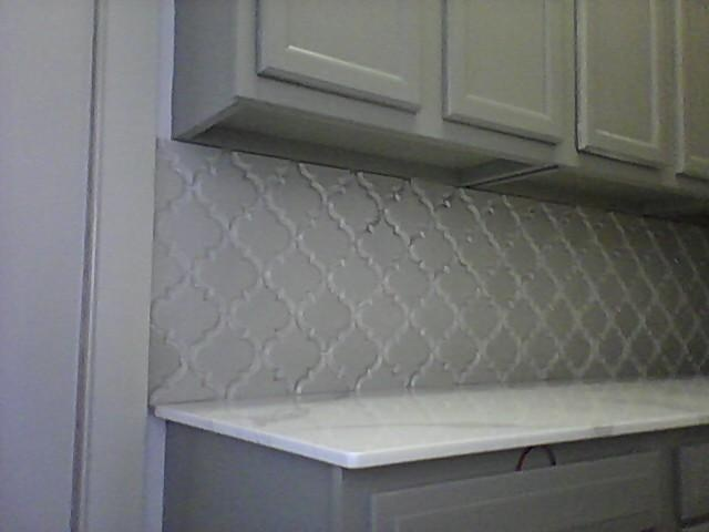 New Color Of Beveled Arabesque Tile Vento Grey For The