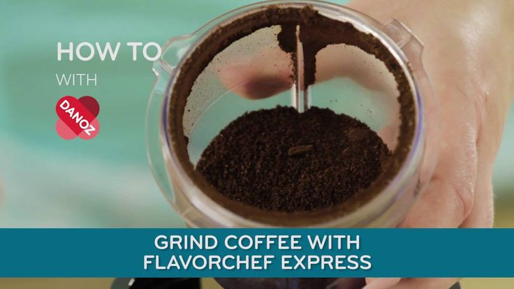 How To - Grind Coffee with the FlavorChef Express! Go to our YouTube channel for more videos and recipes #danoz #danozdirect #howto #flavorchefexpress