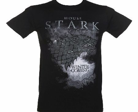 Mens Black Stark Houses Game Of Thrones T-Shirt Pledge your allegiance to the North by wearing this awesome Stark t-shirt! A must for all Game of Thrones fans. http://www.comparestoreprices.co.uk/t-shirts/mens-black-stark-houses-game-of-thrones-t-shirt.asp