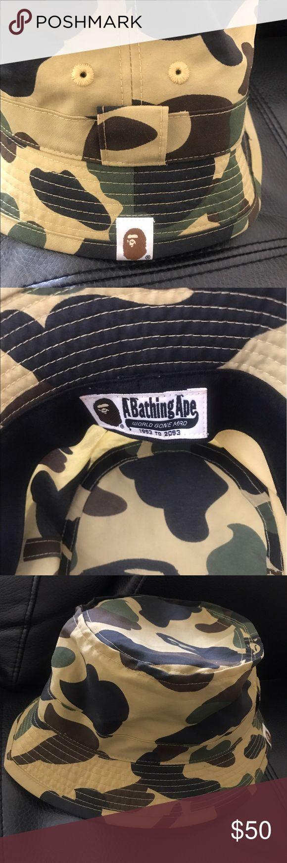 BAPE Ape Hat Excellent condition. authentic. has gold BAPE tag inside of hat. bape Ape Accessories Hats