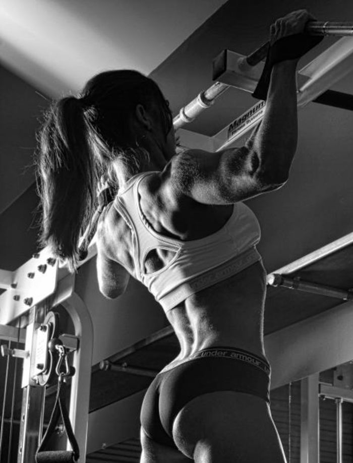 Best Female Fitness Motivation Pictures | I can. I will. End of Story http://healthyquickly.com