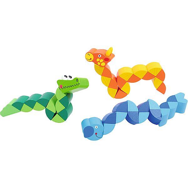 Drewniane zwierzaki układaki #creative #wooden #toys #kids  http://www.mojebambino.pl/niepogoda/1291-zwierzaki-ukladaki-zoo.html