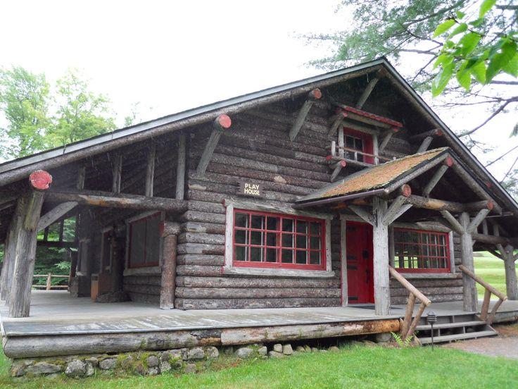 Great Camp Sagamore The Playhouse At Alfred G