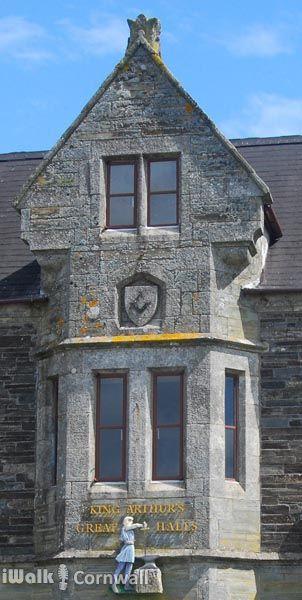 King Arthur's Great Halls in Tintagel