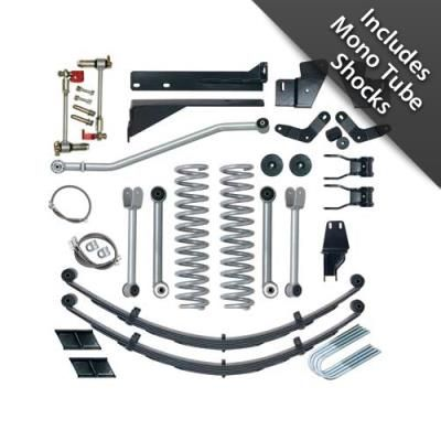 1996 JEEP CHEROKEE (XJ) Rubicon Express 5.5 Inch Extreme-Duty Short Arm Lift Kit with Mono Tube Shocks: Rubicon Express 5.5 Inch Extreme…