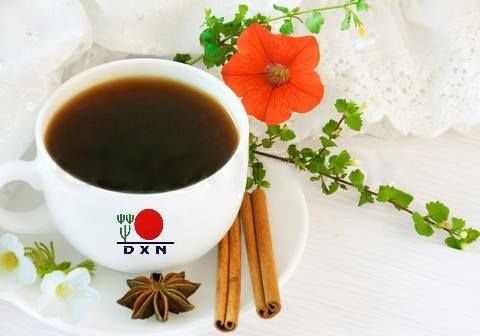 Черный кофе DXN.