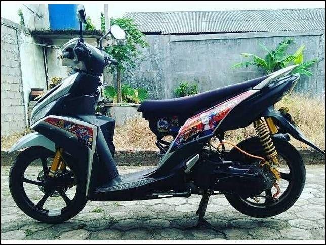 18 Gambaar Modifikasi Motor Mio Z Simple Terbaru Motor Indonesia