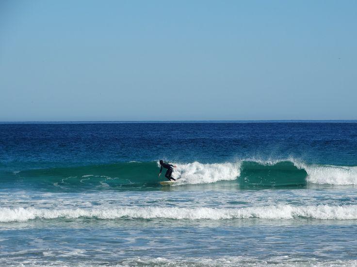 Winter surfing #surfing #capetown