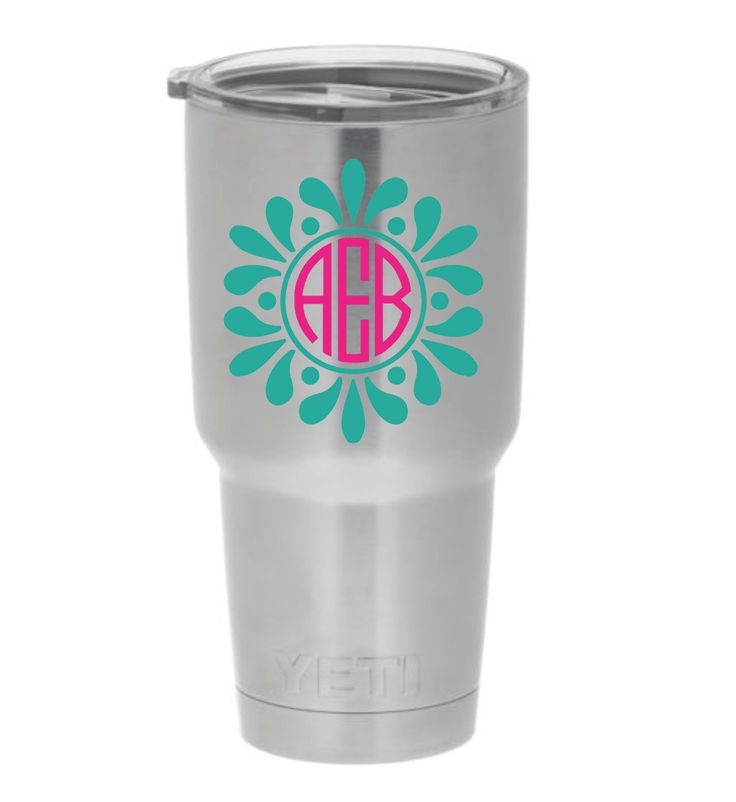 Best Yeti Decals Images On Pinterest Yeti Decals Vinyl - Vinyl cup decals