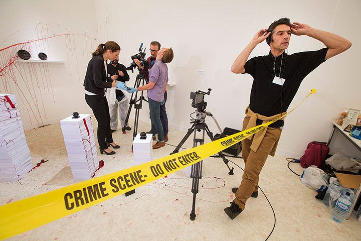 Frieze Art Fair: Murder In Three Acts by Asli Cavusoglu