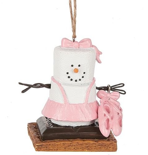 S'mores Original Ballet Shoes smores ornament by Midwest CBK. 2017