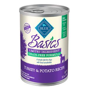 Blue Buffalo Basics Turkey and Potato Recipe for Adult Dogs Canned Food | Pet Food Direct
