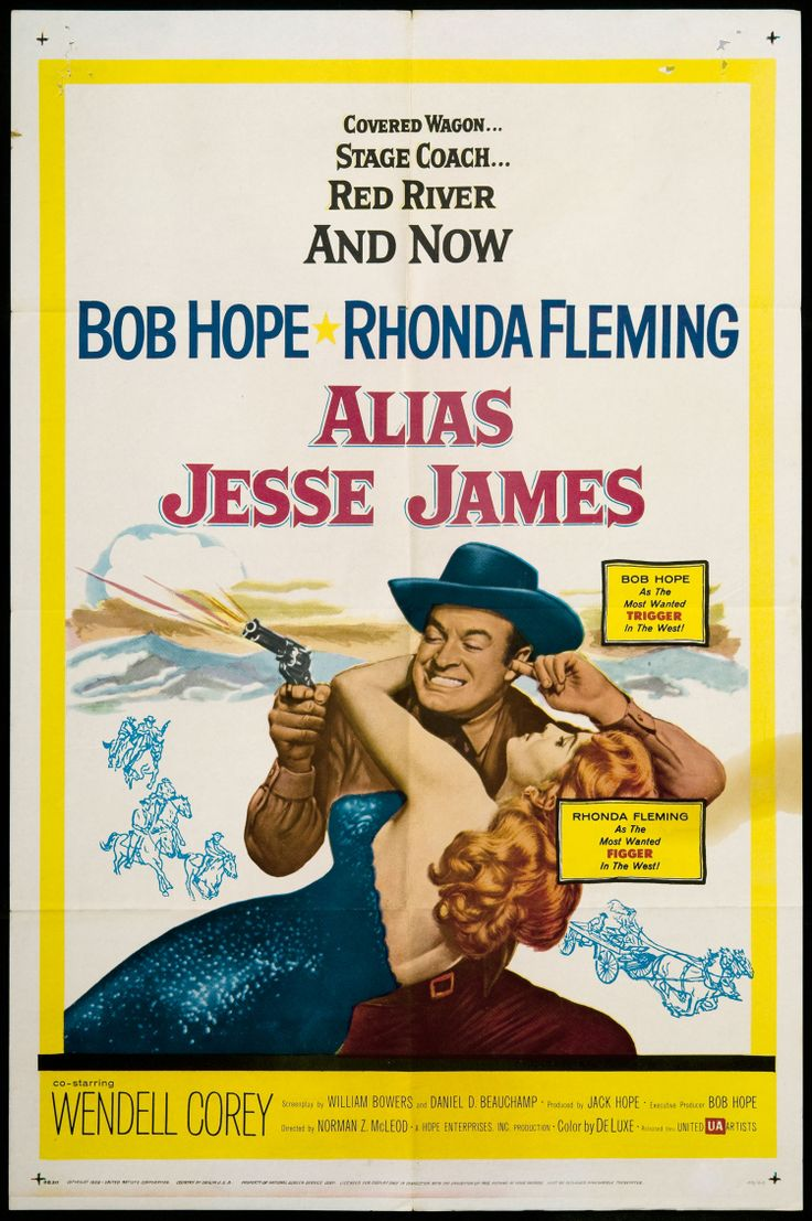 Alias Jesse James: Movie Posters, 1950S Movie, Classic Movie, Alia Jesse, Bobs Hope, Picture-Black Posters, James 1959, Alias Jesse, Jesse James