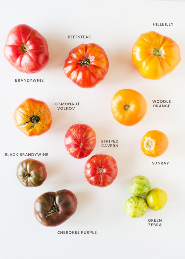 A Guide to Heirloom Tomatoes - Info on the four classifications of Heirloom Tomatoes, why they are so desirable, where you can buy them, and how to select and store them.