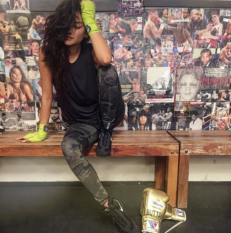 """"""" shaym: Trying to blend in with the wall slash can't keep my eyes open after boxing  """""""
