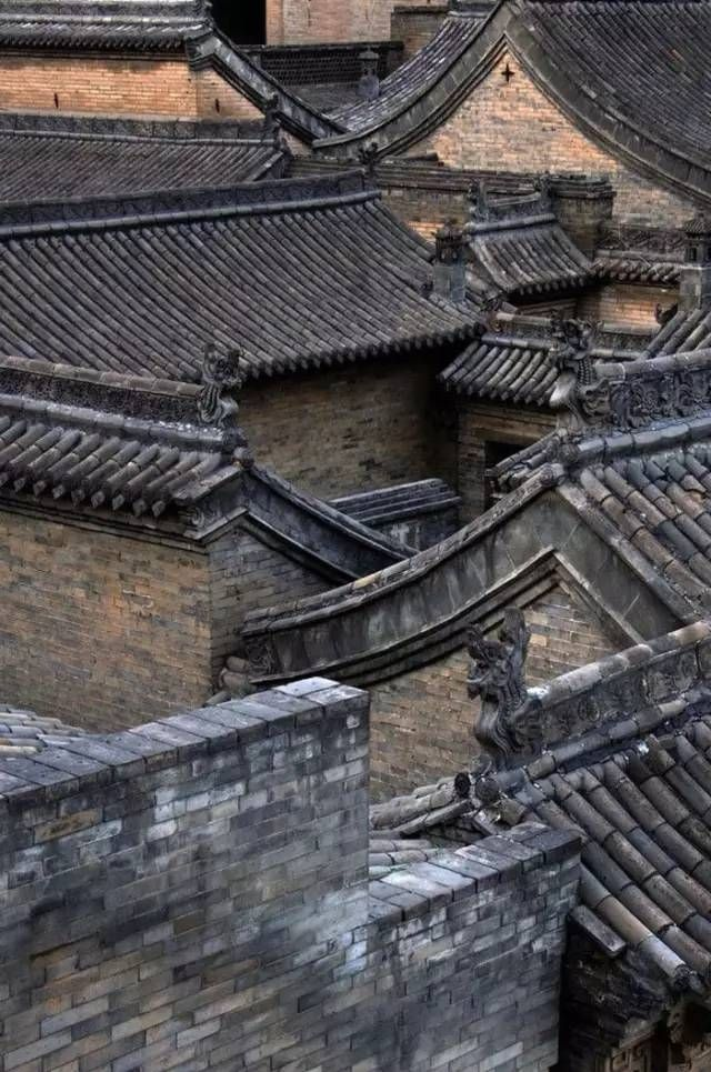 China㊗️Chinese Roof Tiles ART AND IDEAS : More At FOSTERGINGER @ Pinterest ㊙️㊗️