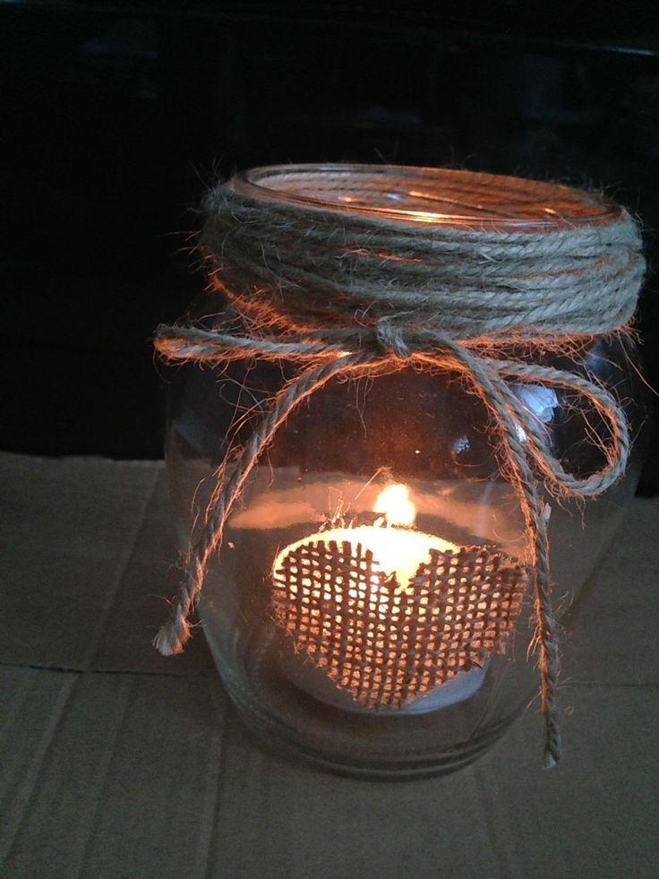 Rustikální vintage dekorace - vázy a svícny II. ,