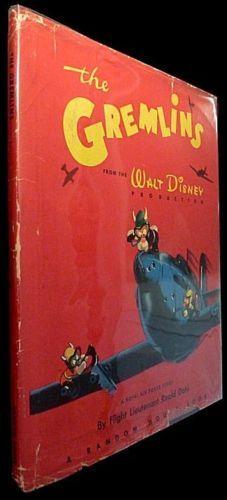 The-Gremlins-Roald-Dahl-Walt-Disney-1943-1st-Ed-w-DJ
