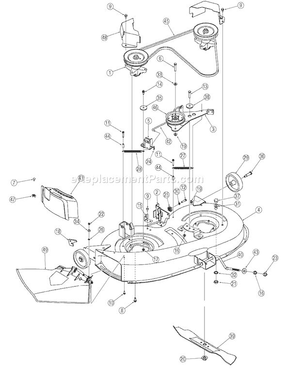 bolens 13am762f765 parts list and diagram