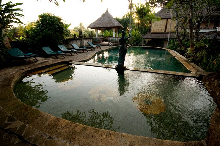 Honeymoon Guesthouse Ubud, Bali - one of the best places I've stayed. A friend Sass, runs womens yoga and workshop retreats there too...