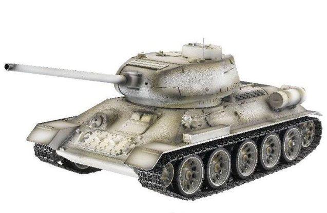 Радиоуправляемый танк Taigen T34-85 в масштабе 1:16 от компании Taigen  http://hobbystart.ru/item.php?id=42778