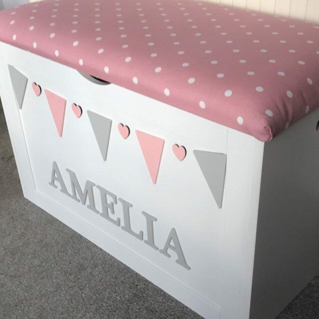 New Design Extra large Personalised Toy Box