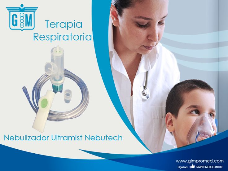 Gimpromed - Catálogo Terapia Respiratoria - Terapia Aerosol Producto: Nebulizador Ultraimist Nebutech