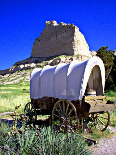 The Oregon Trail ~ Scotts Bluff National Monument, Nebraska