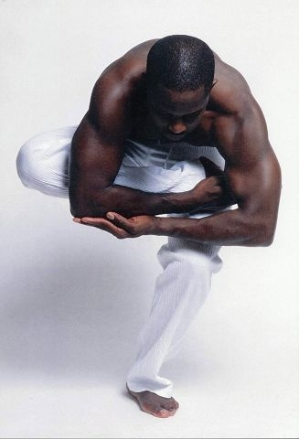Haitian-born dancer Gaspard Louis.