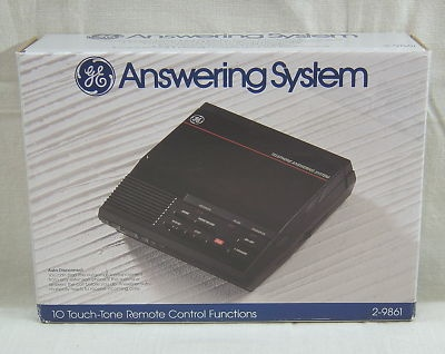 answering machine beep