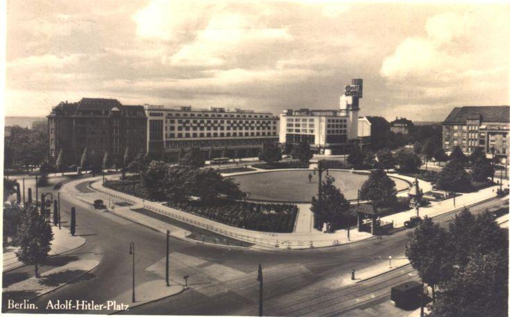 1930er Berlin - Adolf-Hitler-Platz (heute: Theodor-Heuss-Platz)